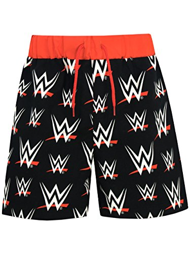 WWE Boys' World Wrestling Entertainment Shorts Black Size 10 by WWE