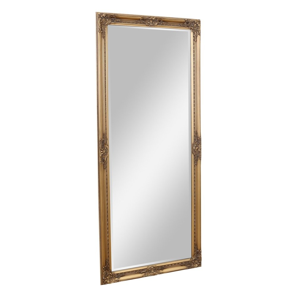 Barcelona Trading Eton Large Full Length Antique Gold Shabby Chic Leaner Wall Floor Mirror 62