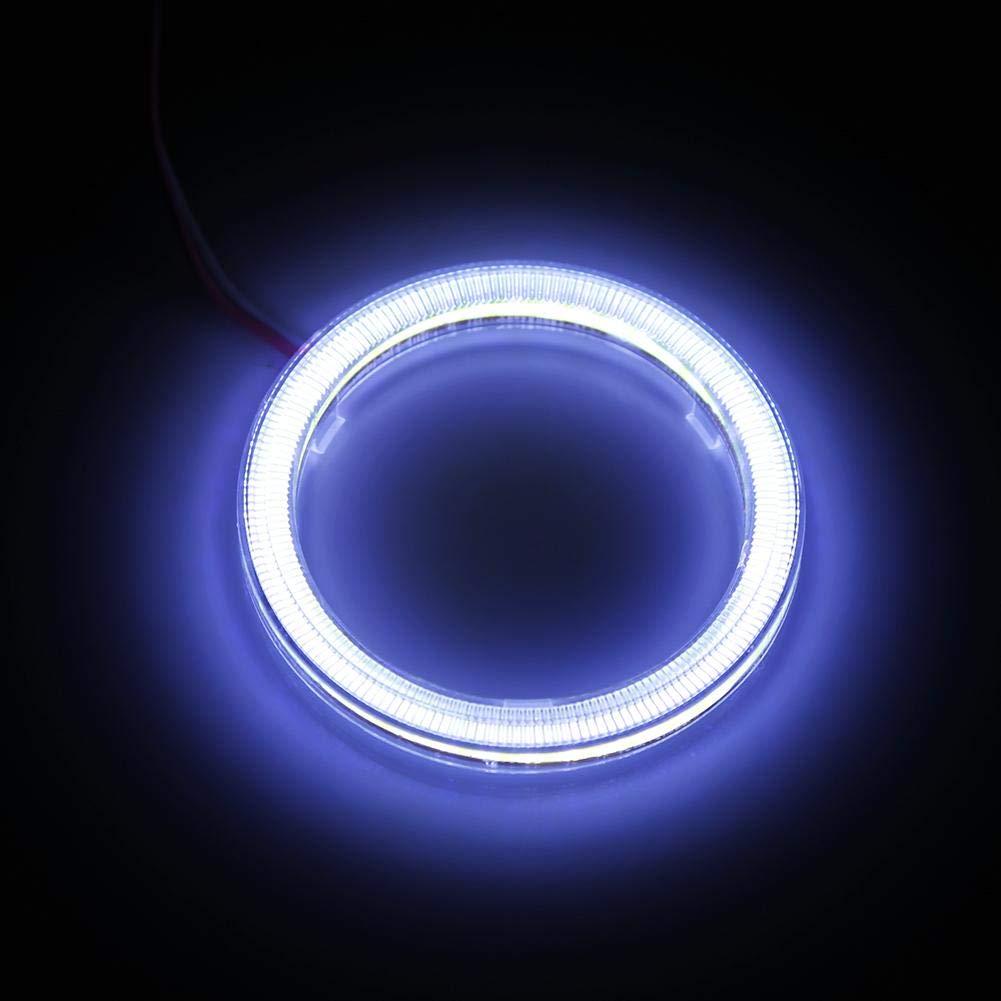 100mm COB Faro Anelli Auto Alone Halo Angel Eye COB Chip Faro DRL LED per Auto Moto