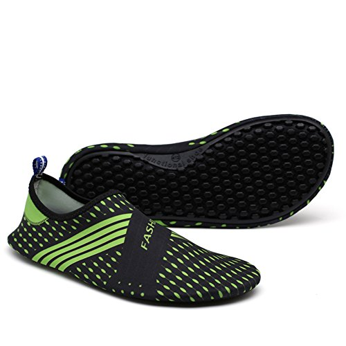 Quick Aqua Water Kids Ventilation Shoes Outsole Sports Holey Adult Socks Skin KPU 8green Dry BYpAfwx