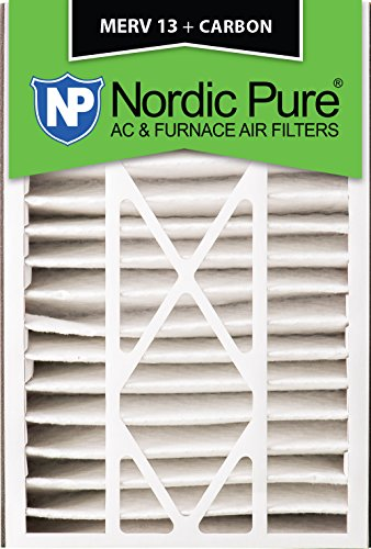 Nordic Pure 16x25x5ABM13+C-1 Merv 13 Plus Carbon Air Bear Replacement