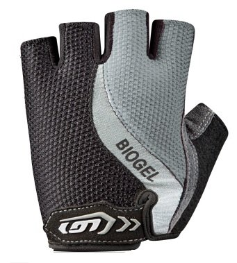 Louis Garneau Men's Biogel Rx Cycling Glove, Silver, ()
