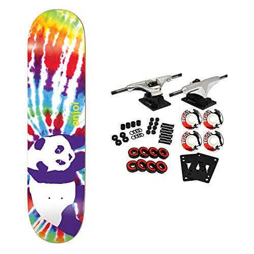 Enjoi Skateboard Complete Tie Dye V6 Multi 8.125