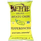 kettle chip pepperoncini - Kettle Brand 8.5 Ounce Krinkle Cut Potato Chips, Pepperoncini