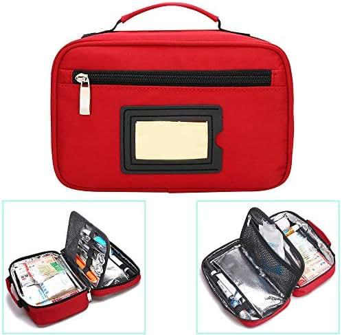 Portable Insulin Cooler Bag Travel Case Waterproof Medical Diabetic Organizer Medication Insulated Cooling Bag