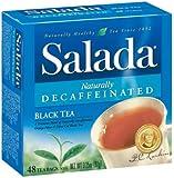 Salada Tea Bags Black Tea Naturally Decaffeinated - 12 Pack