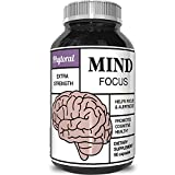 Enhance Brain Memory Boost Focus Improve Clarity Mind Booster Supplement For Men And Women - Contains Vitamins Pure Herbal Ingredients - Natural Cognitive Brain Nutrition By Phytoral Discount