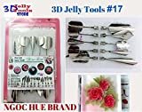 3d Gelatin Art Tools - Type 17 - 3d Jelly Cake Tools - 10 Pcs/set