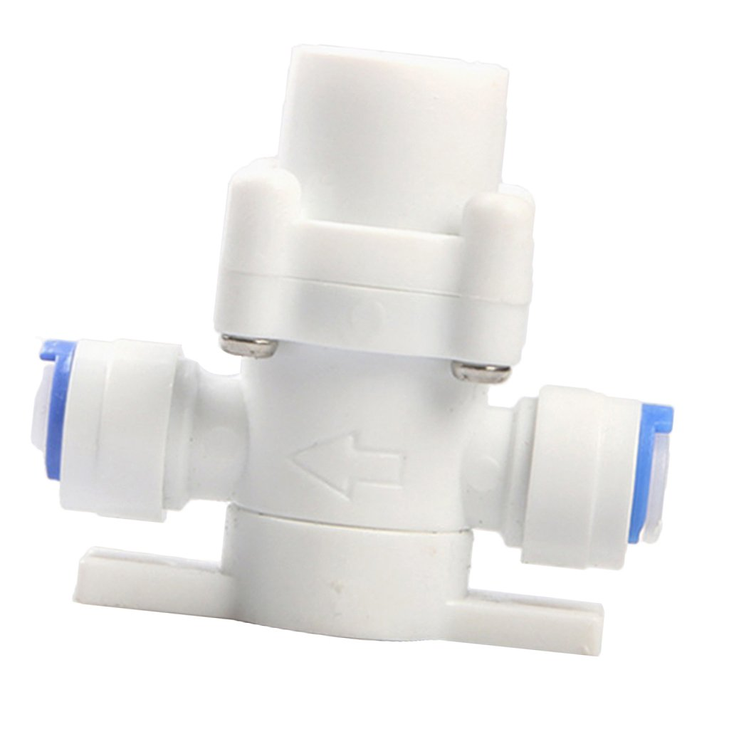 F Fityle DN8 Connector 1/4' Water Reducing Valve Adjustable Pressure Reducing Valves