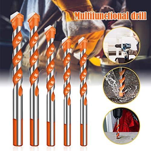 Liamostee Ultimate Drill bits Twist Drill Head Wall Ceramic Glass Punching Hole Working Set