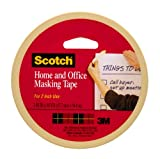 Scotch(R) Home and Office Masking Tape , 1.88-Inch x 60 Yards,Tan (3439)