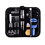 Ohuhu 13 Piece Watch Repair Tool Kit Case Opener Spring Bar Tool Set Bonus A Hammer