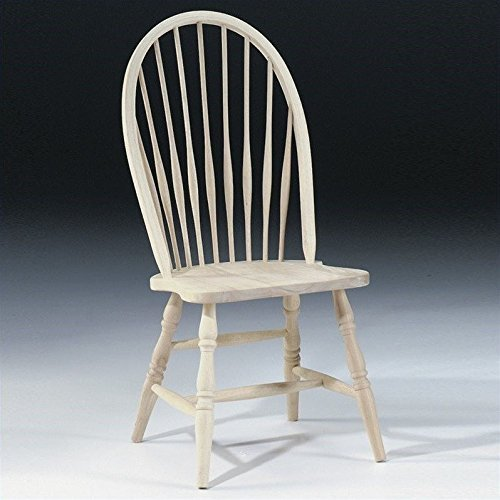 International Concepts 1C-969 Tall Windsor Side Chair, Unfinished