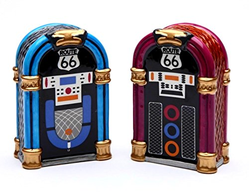 Road Trip - Jukebox Salt & Pepper Shaker By Robin Roderick ()