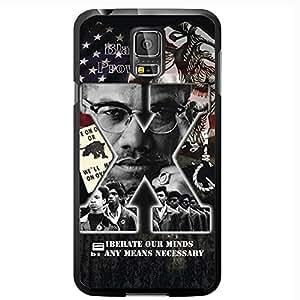 Malcolm X Hard Snap on Case (Galaxy s5 V)