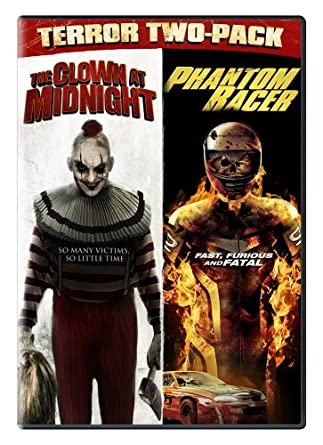 Terror Two-Pack: Clown at Midnight & Phantom Racer Reino Unido DVD: Amazon.es: Cine y Series TV