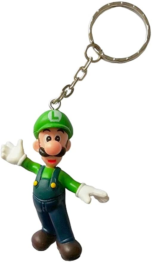 G/én/érique Super Mario Bros Porte-cl/és Figurine Yoshi 8 cm