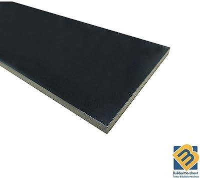 Black Melamine Mdf Board 12mm X 2440mm X 1220mm 8ft X 4ft 1 Pieces Amazon Co Uk Diy Tools