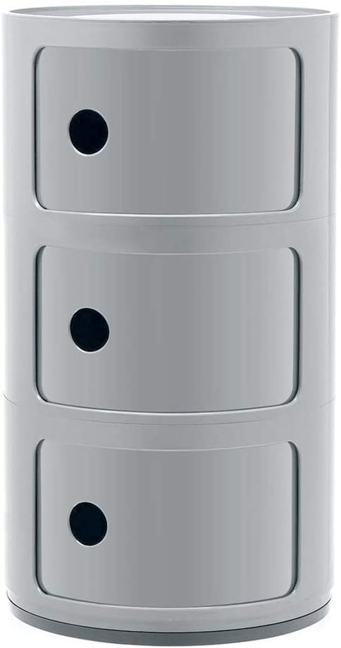 Kartell Componibili Drawer, Pack of 1, Silver