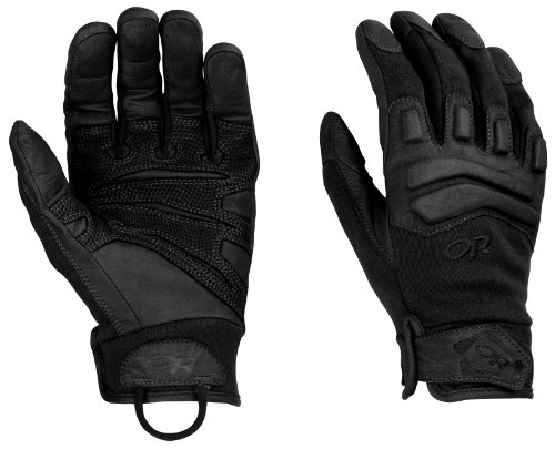 Outdoor Research Firemark Gloves, All Black, ()