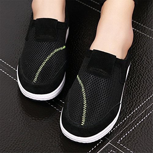 Primavera Ons de Mocasines o mujer Zapatos y Lienzo Zapatos Slip Oto conducci de tBxpwzCqn