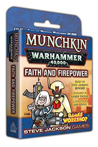 Munchkin Warhammer 40000 Faith and Firepower
