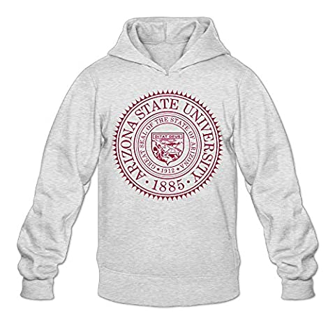 MARC Men's Arizona State University Hooded Sweatshirt Ash Size L (Peppa Pig George Boots)