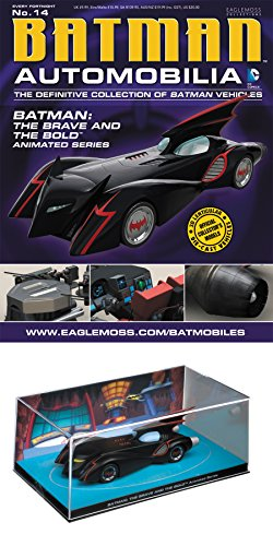 DC Batman Automobilia Figurine Collection Magazine #14 the Brave and the Bold Animated Series