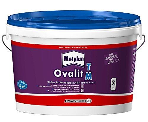 Metylan 44573 Ovalit TM Colle textiles muraux, Blanc Henkel