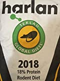 Harlan Teklad Rat Food Diet Global 2018 (33lbs)