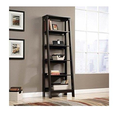 sauder 5 shelf bookcase jamocha wood ehouseholds