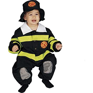 Dress up America Disfraz de bombero para bebés: Talla 9-12 meses ...