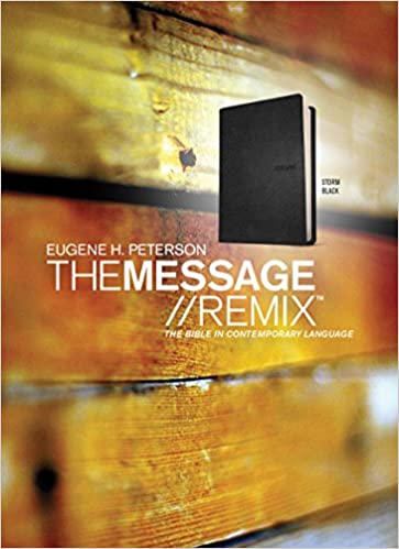 The Message//REMIX (Leather-Look, Black): The Bible in Contemporary