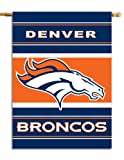 NFL Denver Broncos 2-Sided 28-by-40-Inch House Banner