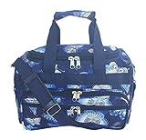 13'' Duffle Cheer Dance Sports Travel Duffle Bag (Blue Butterflies)