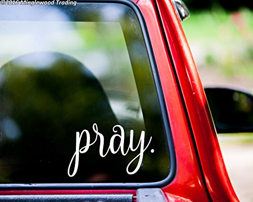 prayer window decal - 9