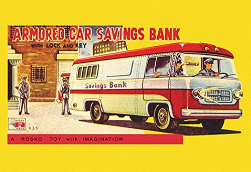 Buyenlarge Armored Car Savings Bank - Gallery Wrapped 44
