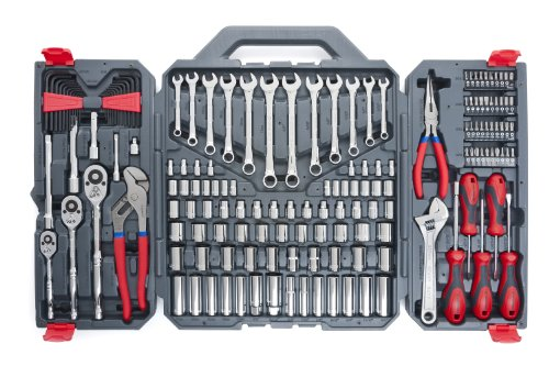 Crescent 170 Pc. General Purpose Tool Set – Closed Case – CTK170CMP2