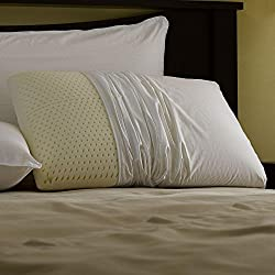 Pacific Coast Feather Restful Nights Even Form Latex Foam Pillow (King)