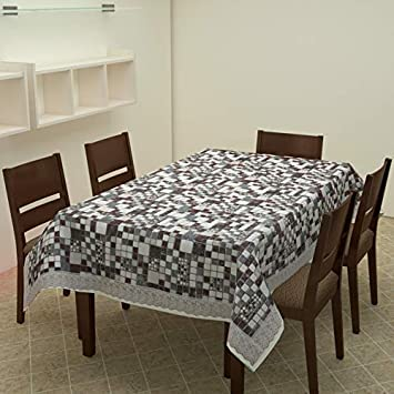 Yellow Weaves™ Dining Table Cover Waterproof 6 Seater 60 X 90 Inches