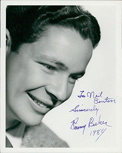 Signed Baker, Kenny 8x10 Photo (P,