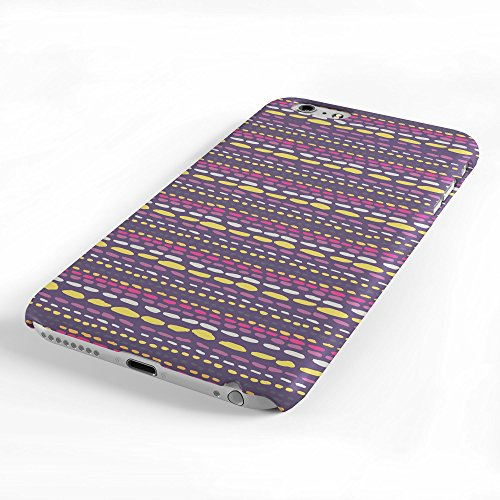 Koveru Back Cover Case for Apple iPhone 6 Plus - Brown Material Mattern