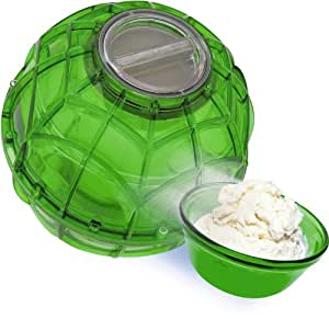 YayLabs Play and Freeze Ice Cream Ball Ice Cream Maker, Pint, Green