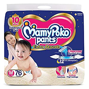 MamyPoko Pants Extra Absorb Diaper,...