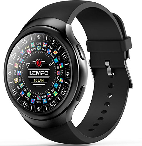 LEMFO LES2-3G Smartwatch Phone Android 1GB + 16GB Monitor de Pulso ...
