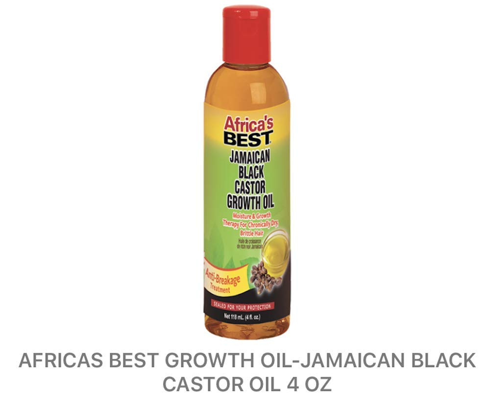 Africa's Best Jamaican Black Castor Growth Oil by Africa's Best