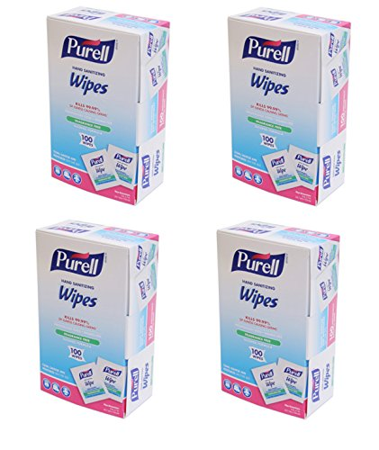 PURELL Sanitizing Hand Wipes Individually Wrapped 400-ct. ()
