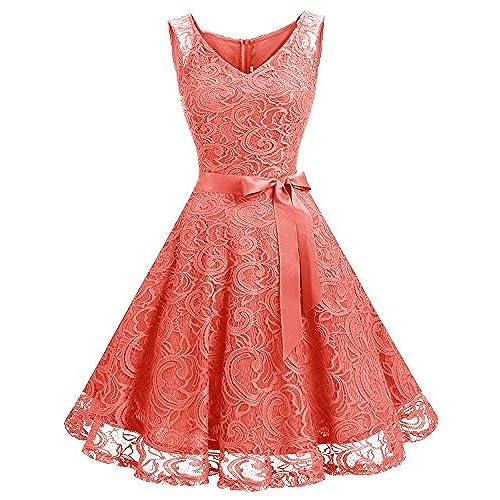 Coral Short Bridesmaid Dresses Amazon