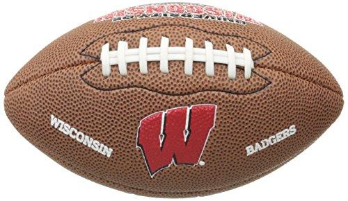 NCAA Wisconsin Badgers Team Football, Mini, (Wisconsin Badgers Soft Football)