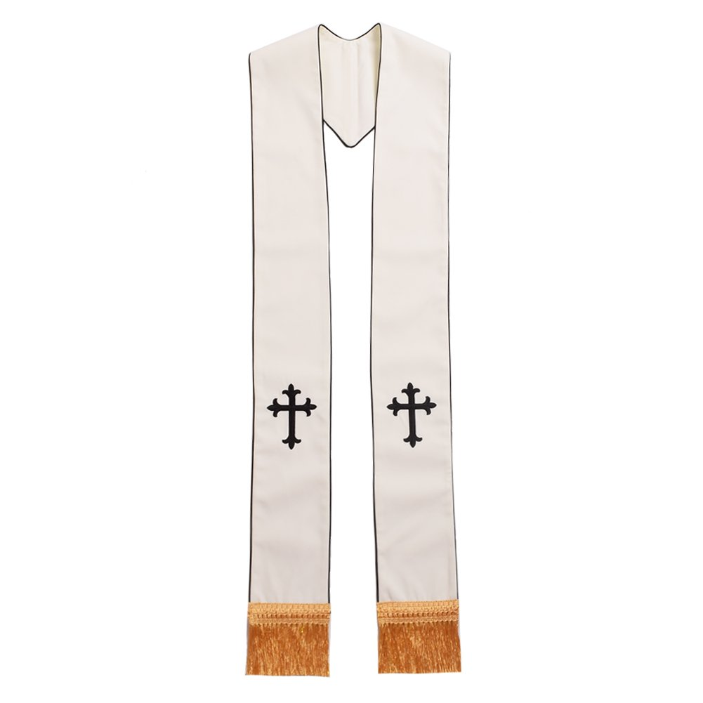 BLESSUME 1PC Clergy Mass Stole